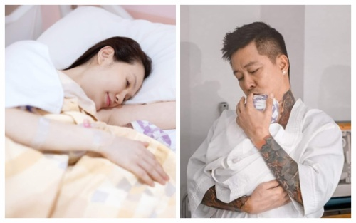 Bà xã Tuấn Hưng tâm sự về việc sinh mổ lần 3: Vết thương trên bụng bị rạch đi rạch lại