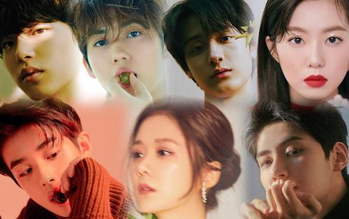 Ảnh tạp chí đẹp nao lòng của Jang Nara, Kim Min Kyu và dàn thực tập sinh 'Produce X 101'