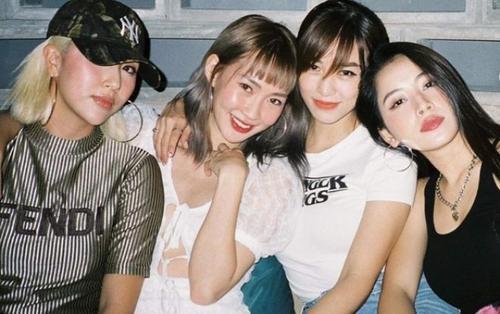 Hội 'hot girl đời đầu' Chi Pu, Quỳnh Anh Shyn, Salim và SunHT thách thức ánh đèn flash với nhan sắc thượng thừa