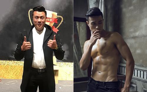 Hành trình giảm 25 kg từ anh bụng phệ đến nam thần 6 múi của thí sinh Mister Việt Nam 2019
