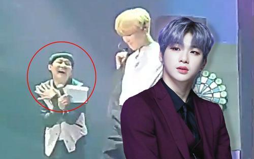 Đâu chỉ người hâm mộ, MC tại fan meeting cũng phải 'quắn quéo' thế này đây trước điệu nhảy cuốn hút của Kang Daniel