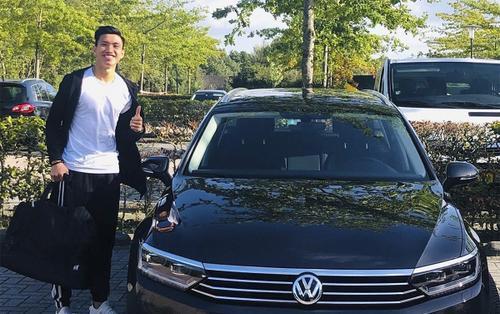 Sướng như Đoàn Văn Hậu: Được CLB Hà Lan cấp riêng xe sang Volkswagen Passat