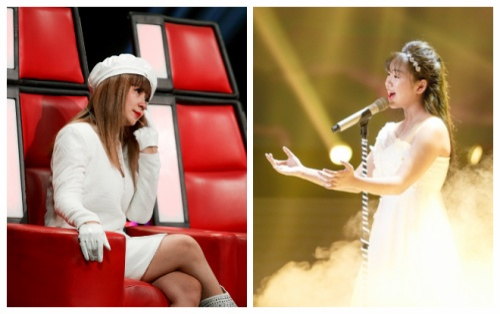 Khánh An (The Voice Kids) hát tặng mẹ bệnh ung thư khiến HLV Lưu Thiên Hương rơi nước mắt