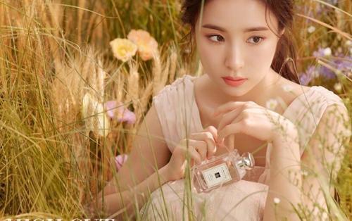 Vứt bỏ danh xưng thánh mặt đơ, Shin Se Kyung trở thành Nữ thần Mùa thu trên tạp chí 'High Cut'