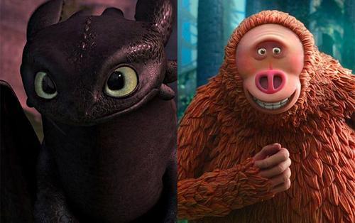 Top 10 quái vật hoạt hình với vẻ ngoài 'không cưỡng nổi' khiến bao trái tim xuyến xao