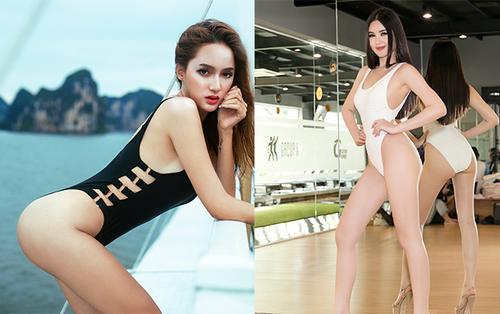 So kè độ nóng bỏng của mỹ nhân Việt diện bikini: Hương Giang, H'Hen Niê chưa bằng người này