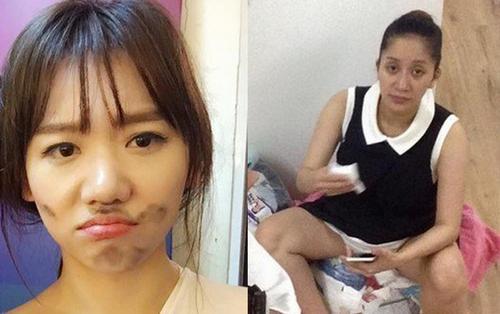 Nhan sắc sao Việt khi chồng chụp lén: Hari Won, Khánh Thi thật thảm, Khởi My muốn té ghế