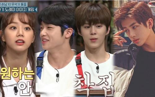 Kim Woo Seok - Son Dong Pyo (X1) chọn người muốn gặp, Kim Min Kyu (Produce X 101) bỗng nam tính