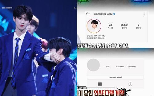 HOT: Instagram triệu follower của Kim Min Kyu bị fan X1 đánh sập, Lee Jin Hyuk là người tiếp theo
