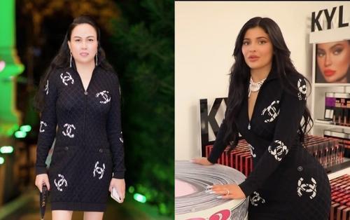 Đụng hàng tỷ phú Kylie Jenner, Phượng Chanel lép vế hoàn toàn về 3 vòng