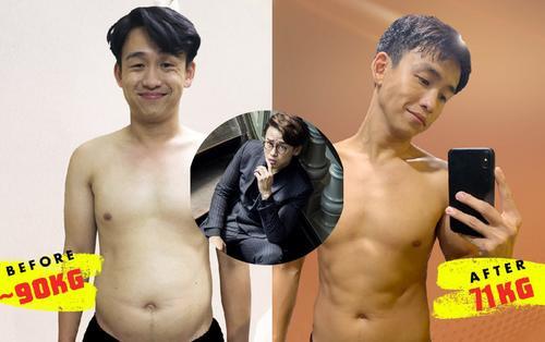 Từng chạm mức 90 kí, MC Quang Bảo tự vấn: 'Mày đã làm gì với bản thân mình vậy Bảo?'