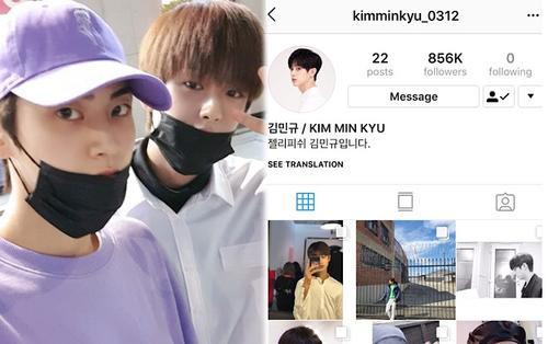Instagram khôi phục sau 15 ngày bị fan X1 đánh sập, Kim Min Kyu 'hò hẹn' cùng Lee Jin Hyuk