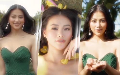 Phương Khánh xinh đẹp tựa 'nàng thơ', rạng rỡ trong video beauty giới thiệu Hoa hậu Trái đất