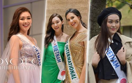 Thời thượng không kém Kiều Loan, Tường San rạng rỡ toả sáng tại Miss International 2019