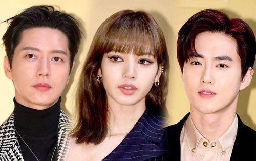 Lisa (Blackpink) xinh như búp bê bên Suho (EXO) và Park Hae Jin tại sự kiện