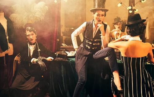 Chiếm spotlight của dạ tiệc cuối năm với phong cách Gatsby kiều diễm