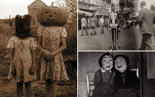 Hóa trang lễ Halloween 100 năm trước trông ra sao?