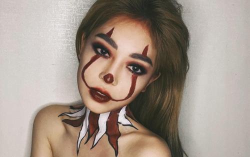 Á hậu Phương Nga hóa trang Halloween ma quái nhưng vẫn xinh đẹp phát ghen