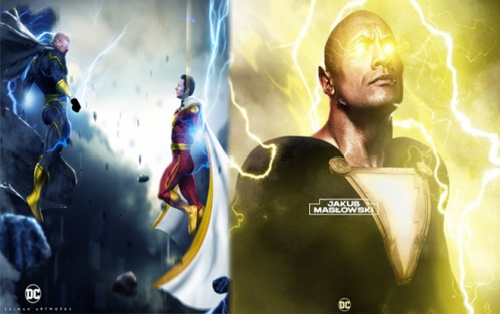 'Shazam 2': Dwayne 'The Rock' Johnson xuất hiện trong Vũ trụ DC với vai trò Black Adam?