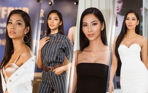 Hoàng Thùy: 'Quần áo chật hết rồi nhưng vẫn muốn tăng thêm 5 kí trước khi thi Miss Universe'