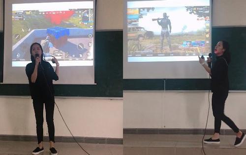 Nữ sinh mang game PUBG lên thuyết trình bài tập cuối kỳ và 'cái kết' khiến nhiều người không khỏi bất ngờ