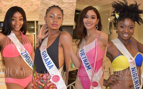 Cùng khoe hình thể: Loạt thí sinh Miss International 2019 mất điểm trầm trọng, Tường San tỏa sáng đáng kỳ vọng