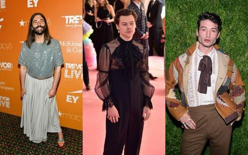 Các nam thần Hollywood khiến fan hoảng hồn vì style đồng bóng tại Met Gala