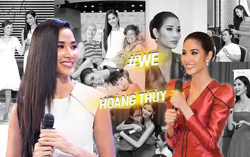 Hoàng Thùy truyền cảm hứng mạnh mẽ với dự án #WE: Tự hào hành trang mang đến Miss Universe 2019