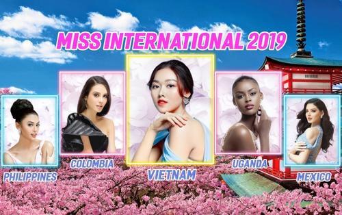 Trước giờ G chung kết: Đủ sức vào Top 5, Tường San có đăng quang Miss International 2019?