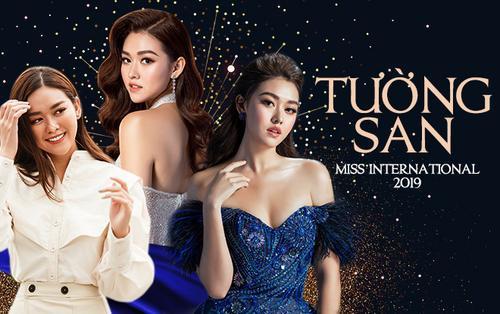 Nhìn lại hành trình của Tường San - Nàng á hậu kiều diễm 'gây thương nhớ' tại Miss International 2019