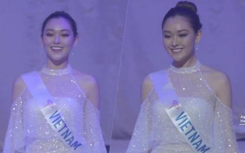 CLIP: Tường San kiều diễm với váy dạ hội ánh bạc, diễn 'nhanh nhưng không hề nhạt' tại chung kết Miss International 2019