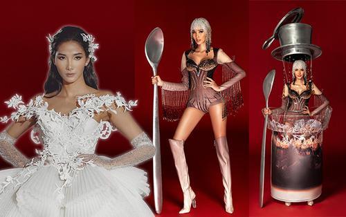 Hoàng Thùy thẳng thắn yêu cầu sửa trang phục dân tộc Cafe phin: Làm lại toàn bộ váy, biến mình thành ly cafe