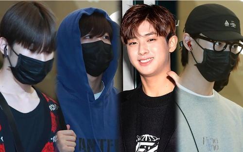 Kim Min Kyu rạng rỡ tại sân bay, X1 suy sụp trở về Hàn sau 5 ngày ở Thái
