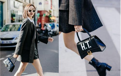 Mang loạt túi hiệu nghìn đô, á hậu Hà Thu 'chiếm sóng' tại đường phố Paris