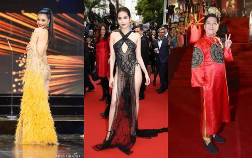 Những chiếc váy đúng người, sai thời điểm, nhiều sao Việt vì yêu 'cứ đâm đầu'