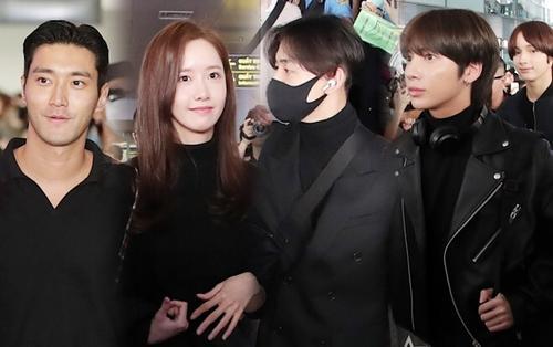 'AAA 2019': Hàng ngàn fan Việt vây kín Yoona, Got7, Nu'est, TXT, Super Junior và Jang Dong Gun tại sân bay Nội Bài
