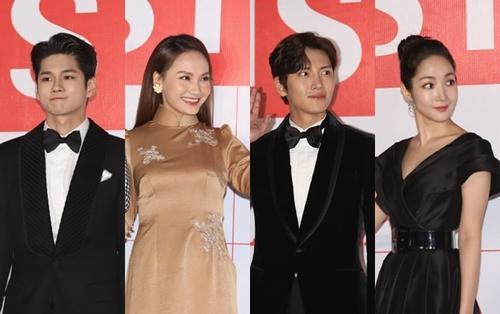 Dàn sao 'Về nhà đi con' cùng Park Min Young - Ji Chang Wook 'càn quét' thảm đỏ 'AAA 2019'