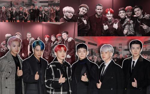 Phản ứng của dàn diễn viên '6 Underground' về EXO: 'Hôm nay các bạn là đỉnh nhất'