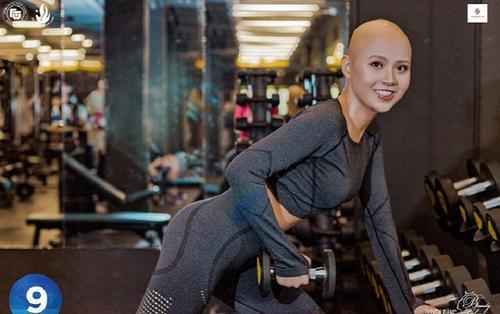 Nữ sinh Đại học Ngoại Thương mắc ung thư vú xuất hiện năng động, khỏe khoắn trong hình ảnh mới