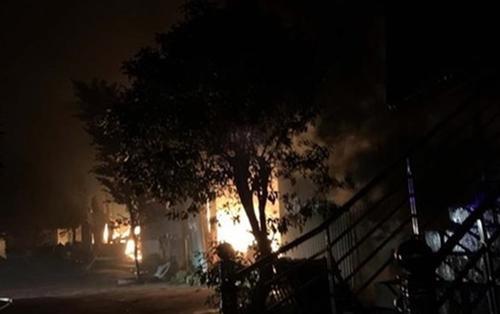 Cháy nhà ở Lâm Đồng khi đang diễn ra trận chung kết SEA Games 30, 4 người trong gia đình tử vong