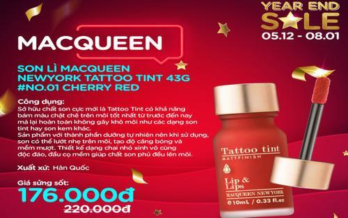 Tung tăng Giáng Sinh sao cho rạng rỡ với top 7 sản phẩm makeup dưới 400k