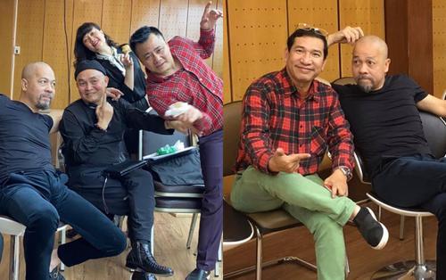 Quang Thắng - Tự Long - Vân Dung tụ họp tập luyện: Fan chờ đợi 'Táo Quân' phiên bản mới