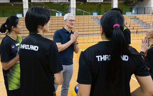 Tim Cook chúc mừng đội tuyển Thái Lan vừa vô địch SEA Games 30