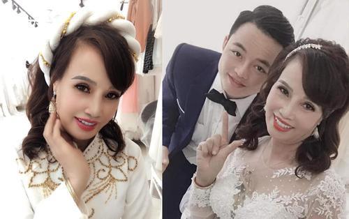 Vợ chồng 'cô dâu 62 tuổi' hẹn nhau đi chụp ảnh cưới nhưng dân tình chỉ chú ý đến nhan sắc sau thẩm mỹ của cặp đôi