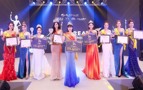 Phạm Bích Thuỷ và 'cú đúp' đăng quang Hoa hậu Đại dương Doanh nhân quốc tế 2019