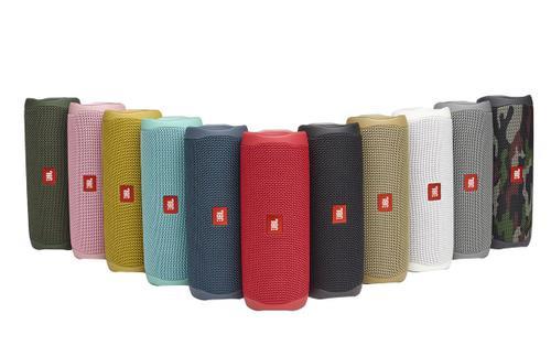 JBL ra mắt hai sản phẩm loa Bluetooth Flip 5 và Pulse 4