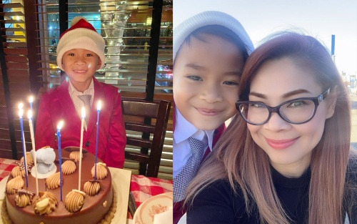 Thanh Thảo nghẹn lòng khi con trai Ngô Kiến Huy và Thụy Anh hỏi: 'Ai là ba là mẹ của con vậy mẹ?'