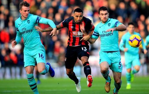 Lịch thi đấu bóng đá ngày 26/12: Bournemouth vs Arsenal