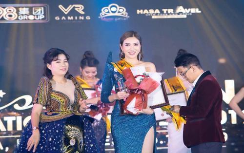 Trần Thị Kim Chi đăng quang Hoa hậu Du lịch Đại dương Doanh nhân quốc tế