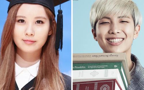 Ngỡ ngàng trước những thần tượng K-Pop 'con nhà người ta' với thành tích học tập khó tin